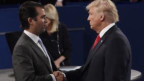 Treffen mit russischer Anwältin: Veröffentlichte E-Mails belasten Donald Trump Jr. schwer