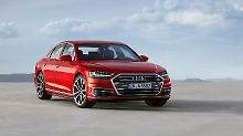 """Mit dem neuen Audi A8 wollen die Ingolstädter den Slogan """"Vorsprung durch technik"""" neu beleben."""