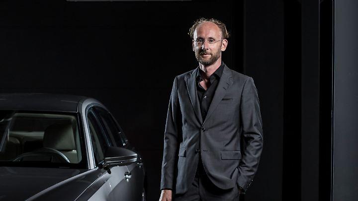 Der neue Audi A8 trägt erstmals die Handschrift von Designchef Marc Lichte.