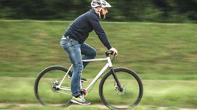 Das Fahrradmodell Mitte von 8bar ist ein sehr spartanisches Bike.
