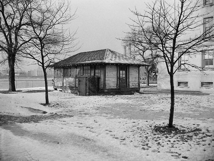 Bungalow einer Typhuskranken auf North Brother Island (Bild von 1948).