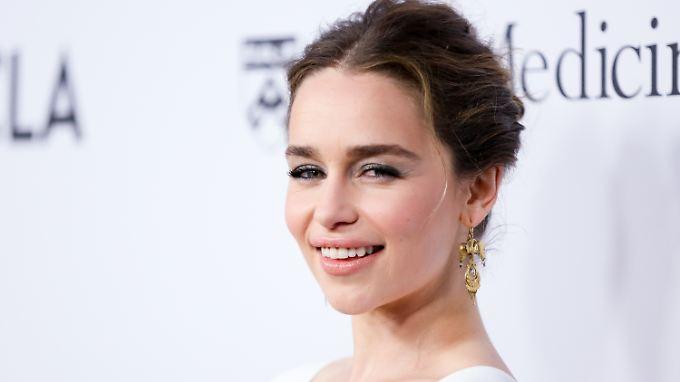 Sex-Szenen? Kein Problem, findet Emilia Clarke.