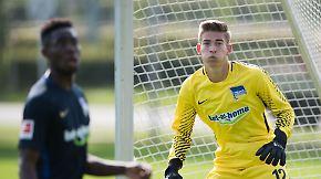 Stürmernachwuchs steht im Tor: Klinsmann-Sohn wechselt zu Hertha BSC