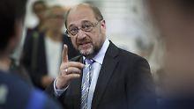 """""""Beleidigend und perfide"""": Schulz greift Union an"""