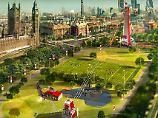 """Zip World"" steht drei Monate: Mega-Seilrutsche ist neues London-Highlight"