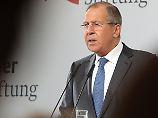 Lawrow legte klare Bekenntnisse zum Völkerrecht ab und kritisierte die westliche Außenpolitik.