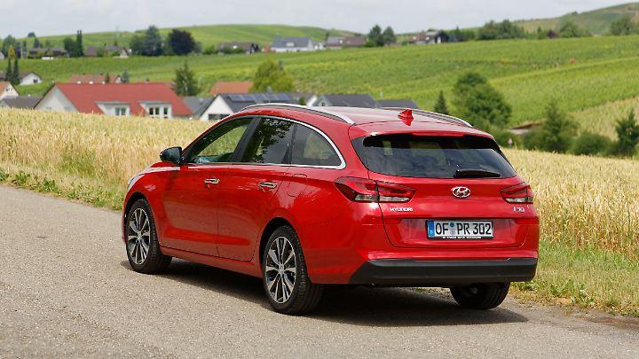 Ein sehr europäisches Design soll die Kundschaft locken, den Hyundai i30 Kombi einem Golf Variant vorzuziehen.