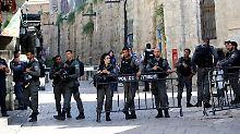 Sperrung nach Anschlag: Israel gibt Tempelberg frei