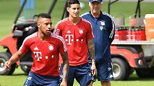 """Test mit James vor Asien-Reise: Bayern-""""Granaten"""" winkt erster Einsatz"""