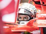 F1-Training in Silverstone: Bottas top, Hamilton pokert, Vettel kämpft