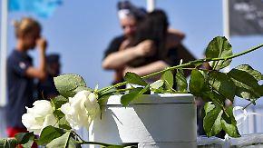 Nationalfeiertag im Zeichen der Trauer: Nizza gedenkt Anschlagsopfern