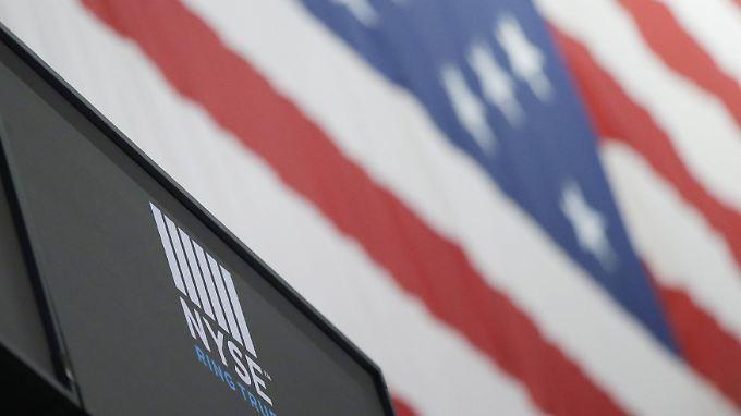 Am New York Stock Exchange an der Wall Street gab's mal wieder ein Rekordhoch zu feiern.