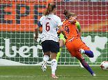 Fußballparty in Orange: Niederländerinnen feiern EM-Auftaktsieg