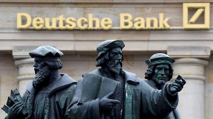 """Die Aufseher wollen sich zwei Großaktionäre der Deutschen Bank näher ansehen: """"Sie werden wohl behandelt, als hielten sie mehr als zehn Prozent."""""""