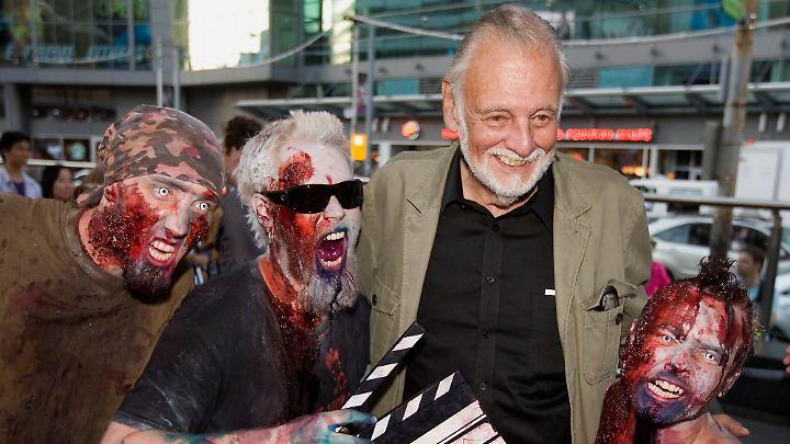 George A. Romero - der Vater der Zombies.