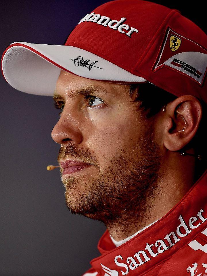 Wirklich sehr bedauerlich: Sebastian Vettel.