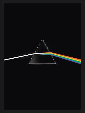 """Das Motiv auf dem Albumcover von """"The Dark Side of the Moon"""" ziert auch das Buchcover von """"Pink Floyd - Their Mortal Remains"""", erschienen bei Edel Books, 320 Seiten, gebunden, 39,95 Euro."""