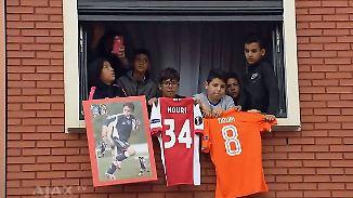 Nach fatalem Kollaps auf dem Platz: Ajax-Fans bereiten Nouri-Familie herzzerreißenden Empfang