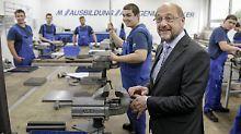 """Schulz' Investitionspflicht: Einfach """"Schleusen auf"""" geht nicht"""