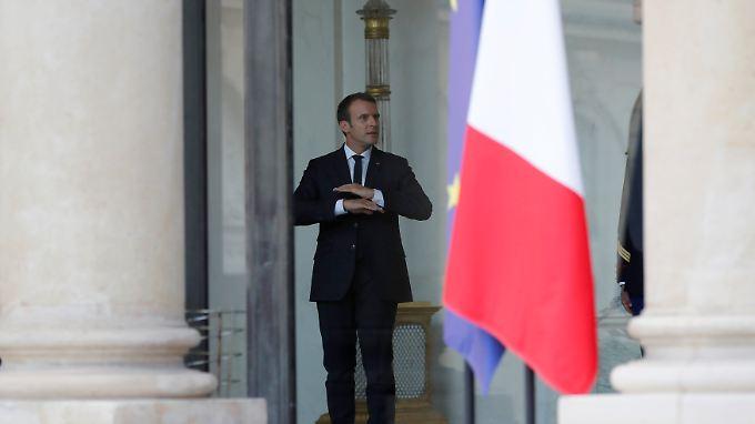 Macron will einen Sparbeitrag der Gebietskörperschaften.