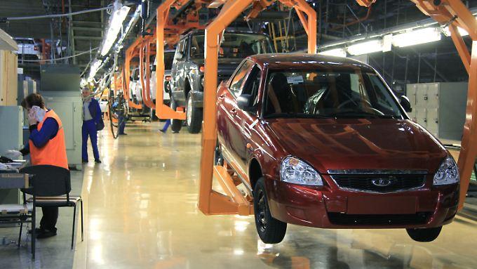 Lada-Produktion in Togliatti
