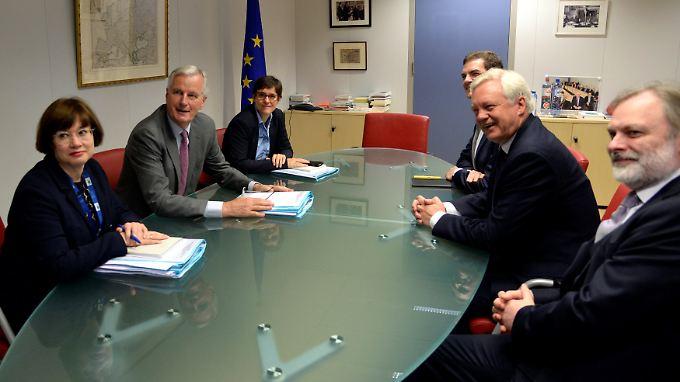 Sind die fehlenden Akten der britischen Verhandlungsführer ein schlechtes Zeichen?