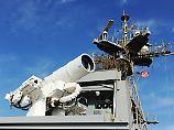 Einsatz im Persischen Golf: US-Marine zeigt Wirkung von Laserwaffe