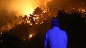 """""""Das ist ein Drama"""": Waldbrände bedrohen kroatische Urlaubsmetropole"""