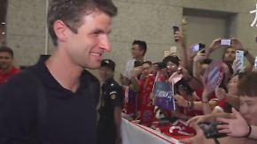 FC Bayern auf PR-Tour: Bei Müller drehen die Chinesen völlig durch