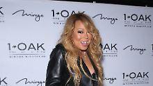 Mariah Carey erwischt einen schlechten Tag.