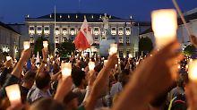 Warschau baut den Rechtsstaat um: Worum geht es im Streit der EU mit Polen?