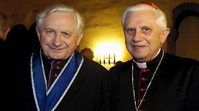 Bruder von Papst Benedikt XVI.: Domspatz erhebt Gewaltvorwürfe gegen Ratzinger