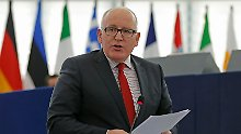 Stopp von Justizreform gefordert: EU droht Polen mit neuem Verfahren