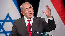 Mikrofon-Panne: Netanjahu schimpft auf die EU