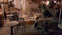Griechische Ägäis-Insel Kos: Zwei Tote nach Seebeben und Mini-Tsunami