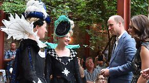 """""""Keine Ahnung, wie ich auf der Liste gelandet bin"""": Britischen Royals treffen Vertreter der Berliner Kreativszene"""