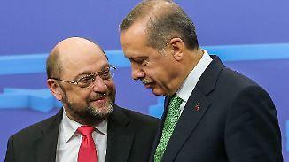 Wahlkampfschlager Türkei: Schulz' letzte Chance?