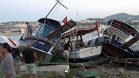 Nachbarschaftshilfe in Krisenzeiten: Türkei nimmt nach Erdbeben Verletzte aus Griechenland auf