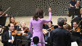 Abschluss des Deutschlandbesuchs: Kate gibt in Hamburg den Ton an
