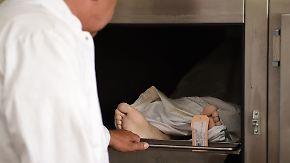 Zu wenige Obduktionen: Viele Morde bleiben unentdeckt