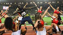 Sieg ohne jede Lockerheit: Traktor Bolt quält sich zu 9,95 Sekunden