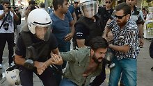 Protest gegen Regierung: 61 Festnahmen in der Türkei