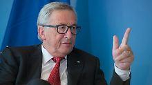 Türkei, Polen, Brexit: Juncker holt zum Rundumschlag aus