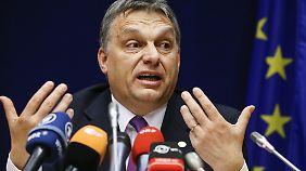 Fordert Solidarität von der Europäischen Union: Ungarns Ministerpräsident Viktor Orban.