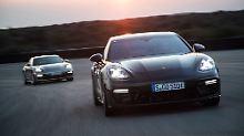 Porsche setzt neongrünes Signal: Panamera bekommt Spitzen-Verstromung