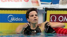 Hentke düpiert Konkurrenz: DSV-Schwimmer wahren Medaillenchancen