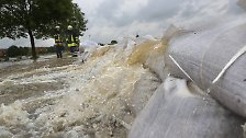 Es regnet und regnet und regnet: Mitte Deutschlands kämpft mit Hochwasser
