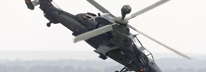 Zwei tote Bundeswehrsoldaten in Mali: Abgestürzter Kampfhubschrauber verlor Rotorblätter