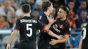 EL-Quali: Millionentruppe gegen Underdog: Ex-Wolf bringt AC Mailand spektakulär auf Kurs