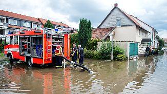 Kampf gegen die Fluten: Gaffer behindern Rettungskräfte in Niedersachsen